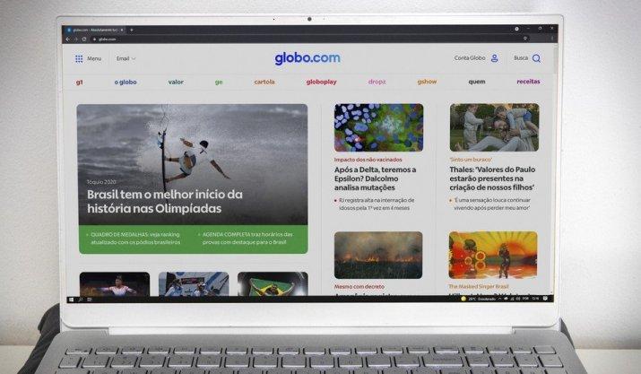 Globo.com muda visual e melhora experiência do usuário
