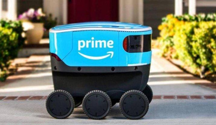 Robôs autônomos de entrega da Amazon já circulam na Califórnia